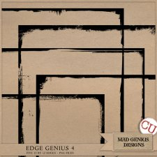 Edge Genius Volume Four by Mad Genius Designs