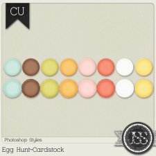 Egg Hunt Cardstock PS Styles by Just So Scrappy