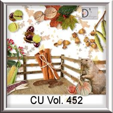 Vol. 452 Autumn Nature Mix by Doudou Design