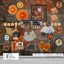 Elements CU - 223 by Cajoline-Scrap