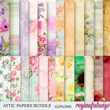 ATTIC BUNDLE PAPERS