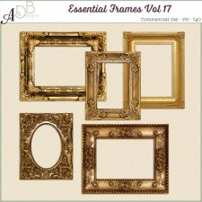 Essential Frames Vol 17 by ADB Designs