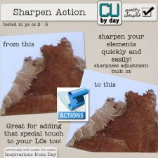 Sharpen Action - CUbyDay EXCLUSIVE