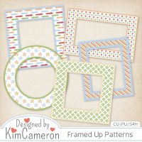 Framed Up Patterns by Kim Cameron