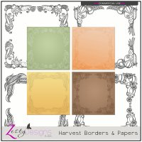 Harvest Borders and Papers