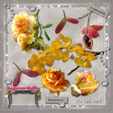 Vol. 127 Yellow Roses EXCLUSIVE bymurielle