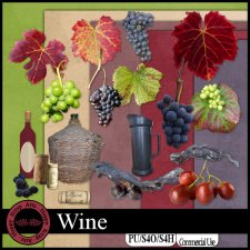 EXCLUSIVE Wine kit by Happy Scrap Arts