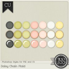 Daisy Chain Plaid PS Styles by Just So Scrappy