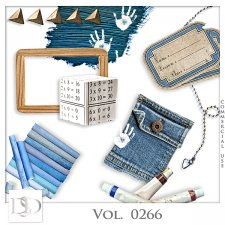Vol. 0266 School Mix by D's Design