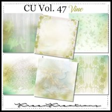 CU Vol. 47 Papers Pack Vine by Kreen Kreations
