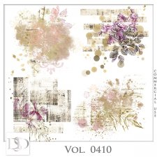 Vol. 0410 Vintage Accents by D's Design