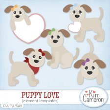 Puppy Love Templates by Kim Cameron