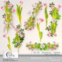 Elements CU - 26 by Cajoline-Scrap