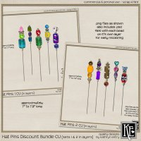 Hat Pins 1-2 Bundle CU