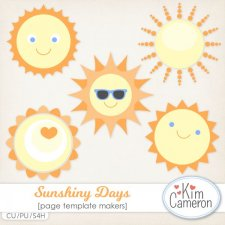 Sunshiny Days Templates