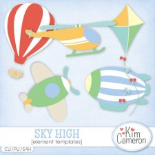 Sky High Templates by Kim Cameron