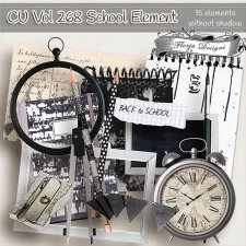 CU vol 268 School Elements by Florju Designs