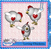 Loving Chickens