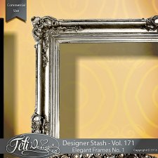 Designer Stash Vol 171 - Elegant Frames No. 1 - by Feli Designs