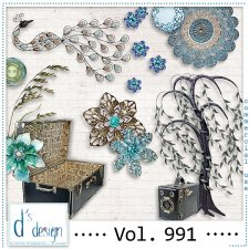 Vol. 991 - Vintage Mix by Doudou's Design