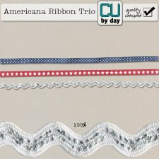 Americana Ribbon Trio