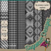 My Grandmas quilts 2 Templates by Sugarbutt Designs
