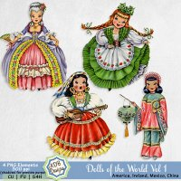 Dolls of the World Vol 1