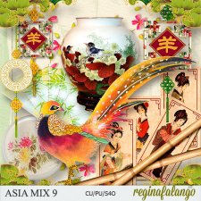 ASIA MIX 9 by reginafalango