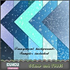 Snow Overlays CU4CU by Scrap and Tubes