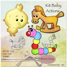 Action - Kit Baby by Rose.li
