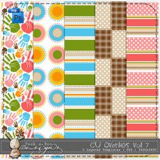 Overlays vol. 7 by Peek a Boo Designs