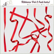 Ribbons Vol. 02 - red hots by ADB Designs