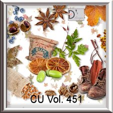 Vol. 451 Autumn Nature Mix by Doudou Design