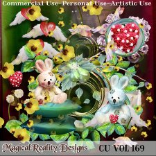 Spring Love - CU Vol 169 by MagicalReality Designs