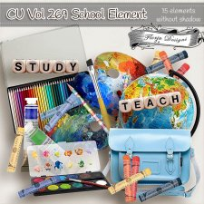 CU vol 269 School Elements by Florju Designs