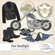 One Headlight Templates by Kim Cameron
