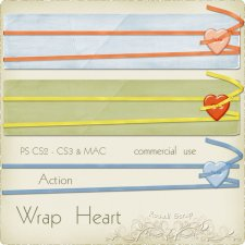 Action - Wrap Heart by Rose.li
