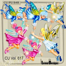 CU Vol 617 Fairies