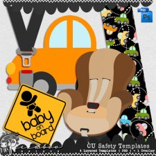 Safety Templates by Peek a Boo Designs