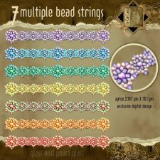 Multiple Beads Strings by Cari Lopez