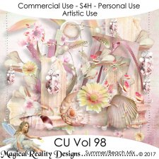 Summer/Beach Mix- CU Vol 98 by MagicalReality Designs