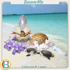Summer Mix 1 by Benthaicreations