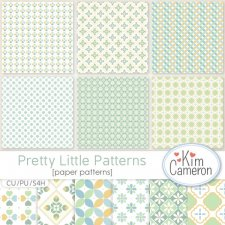 Pretty Little Pattern Template by Kim Cameron