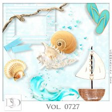 Vol. 0727 Summer Sea Mix by D's Design