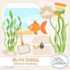 My Pet Goldfish Templates by Kim Cameron