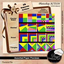 Assorted Paper Preview BUNDLE by Boop Designs