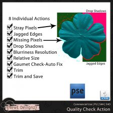 EXCLUSIVE PSE Quality Control Action by NewE Designz
