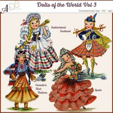Dolls of the World Vol 3
