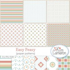 Easy Peasy Patterns by Kim Cameron
