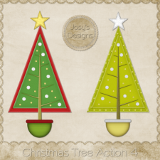 Christmas Tree Photoshop Action 4 by Josy